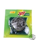 Key point steel wool scrubber